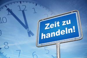 Schuldnerberatung Zeit zu handeln Geldsorgen Überschuldung Finanzielle Sorgen Schulden